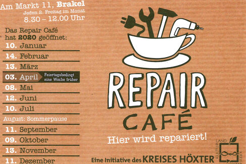 REPAIR CAFÉ in Brakel